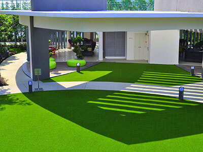 Artificial lawn in Melbourne