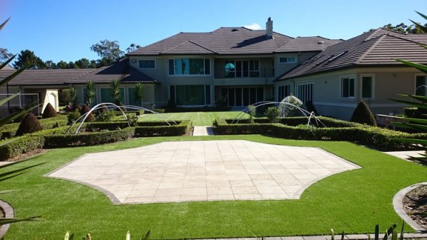 Backyard in Dural with Royal Grass Deluxe