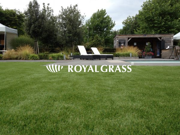 Royal Grass kunstgras in tuin