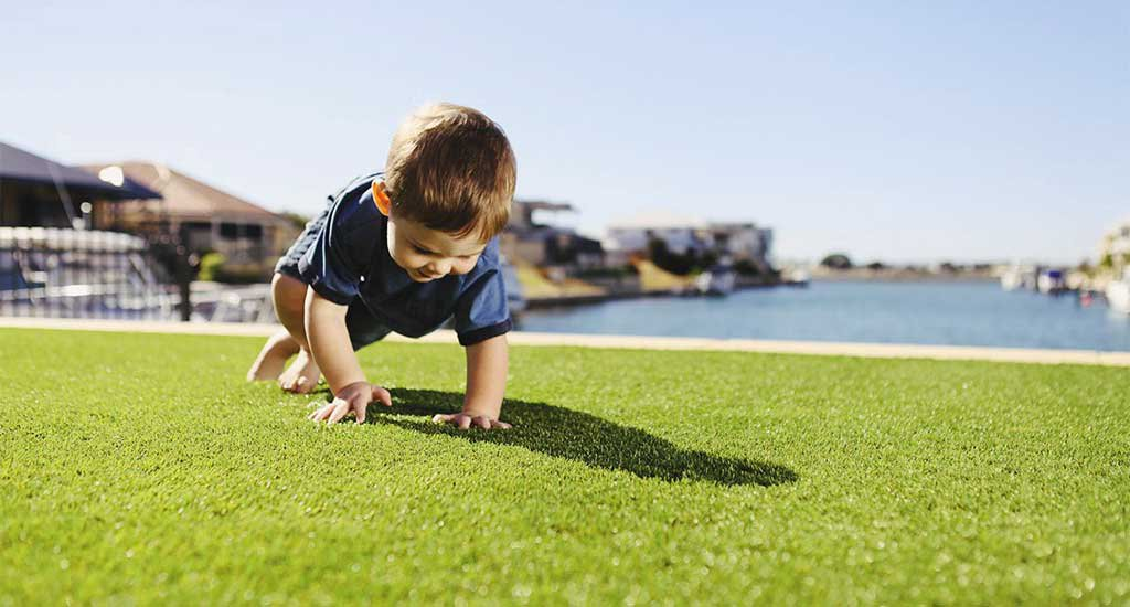 Artificial grass UV warranty