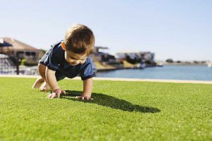 Artificial grass UV warranty
