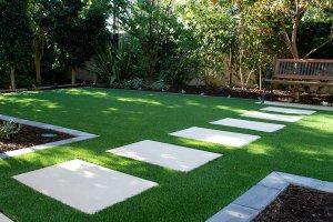 Maintenance friendly lawn