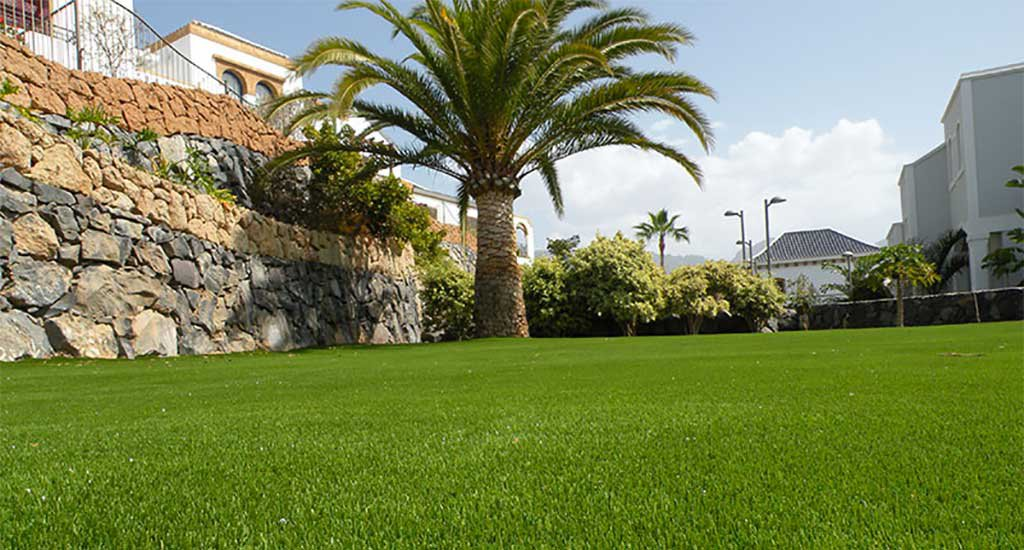 Sand filled artificial grass