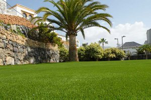 Sand filled artificial grass