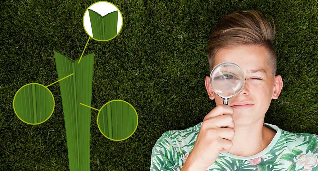Shape artificial grass